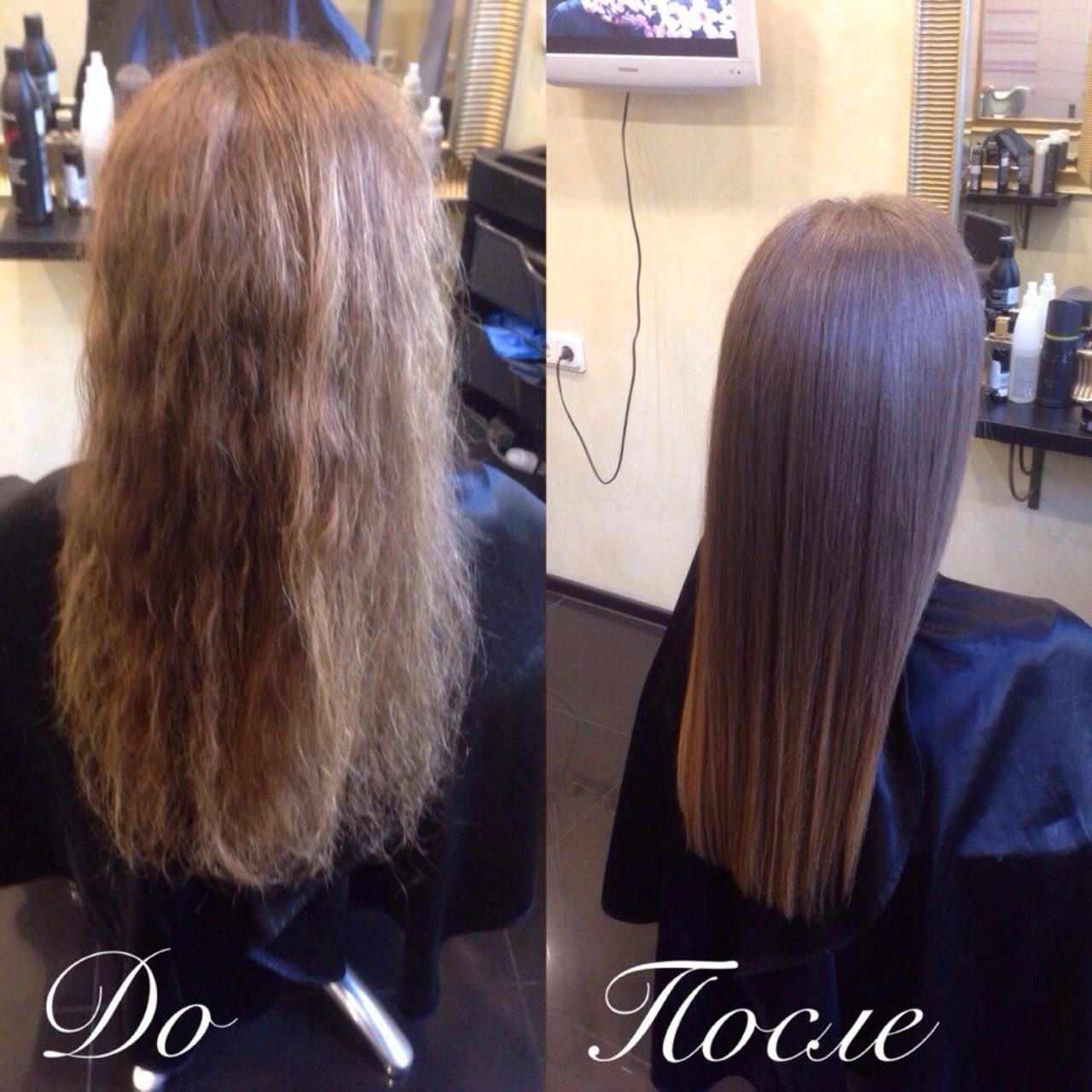 Как выровнять волосы как в салоне